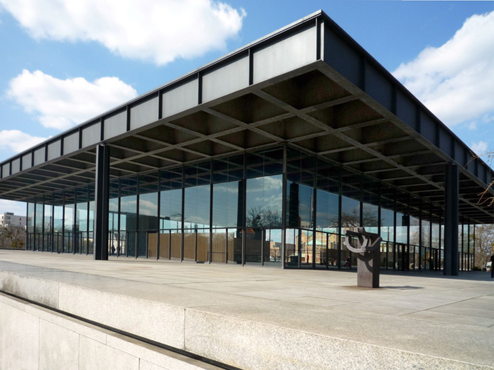 Neue Nationalgalerie in Berlijn